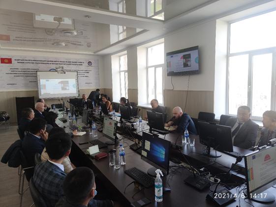 Էրազմուս + ազգային գրասենյակի դիտորդական այցը Ղրղզստանում